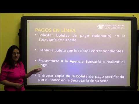 Inducción a la Universidad Rural de Guatemala para nuevos estudiantes (Clase 1)