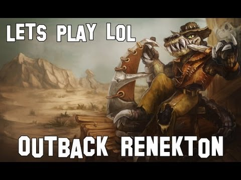 Let's play - LoL [88] - Outback Renekton 4v5 Guide *HD*