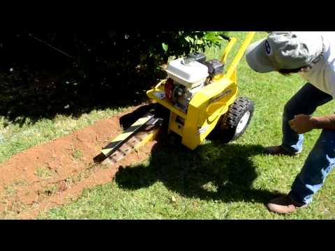 Yard trenching
