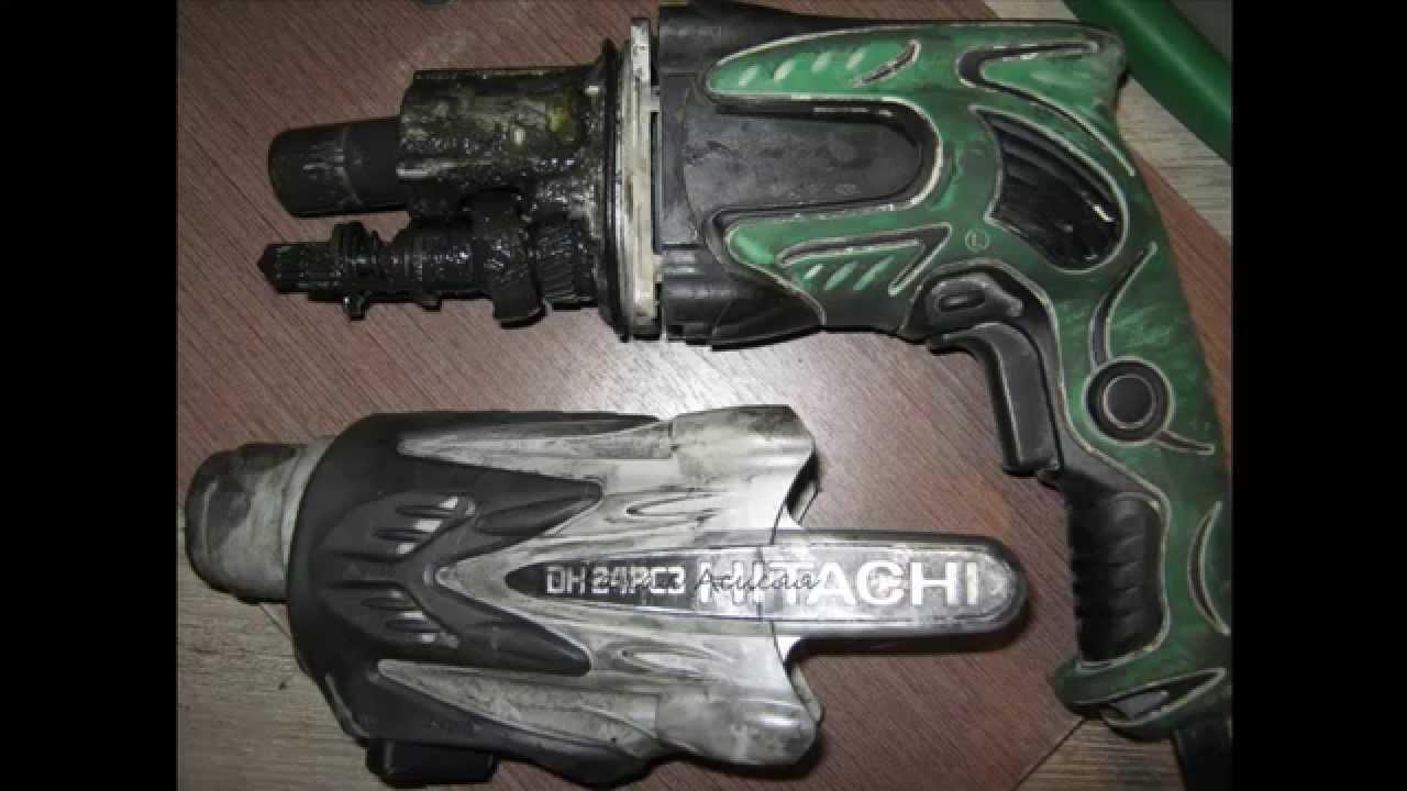 Ремонт перфоратора хитачи dh24pc3 своими руками фото
