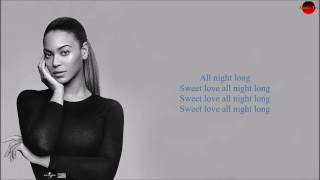 Beyonce All Night Lyrics Fifty Shades Darker beyonce