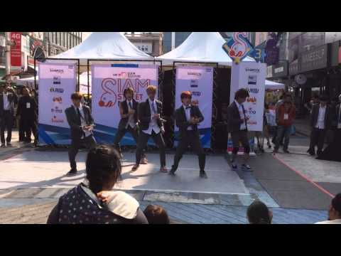 131222 millenium boy cover exo – growl at siam square