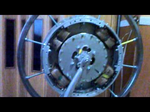 Самодельные колесо Шкондина от Константинова - Глобальная Волна - The Global Wave