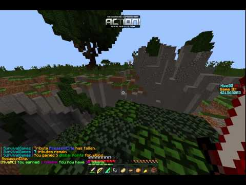 Minecraft Survival Games #1 /W Cloudy Gaming