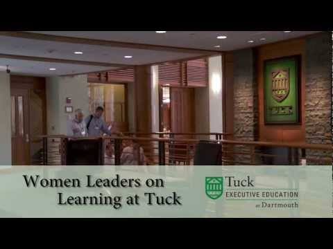 Women Leaders on Learning at Tuck