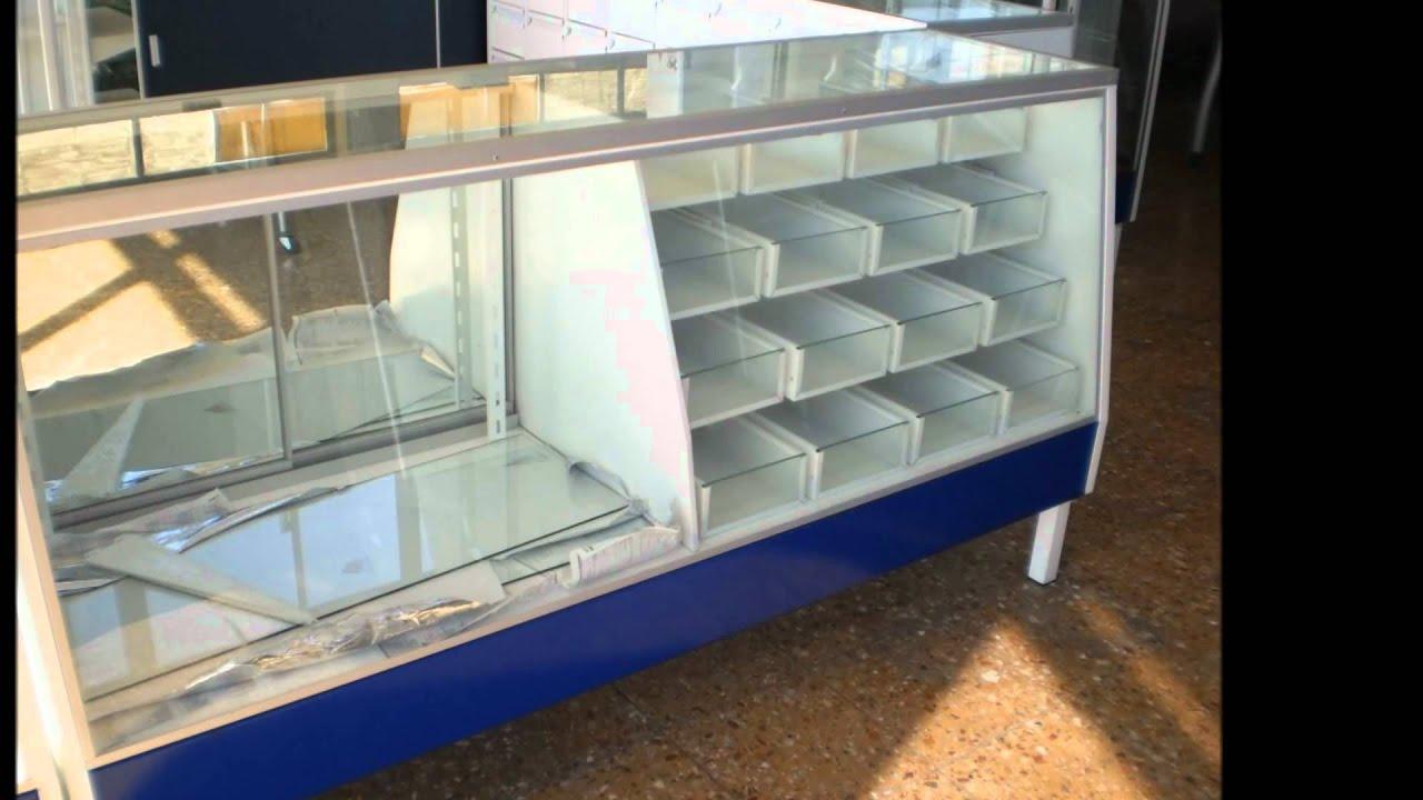 Anaqueles estantes repisas mostradores vitrinas para for Muebles para almacen