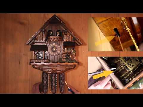 Как сделать часы кукушка