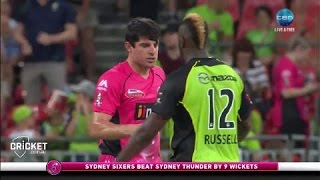 Download Highlights: Thunder v Sixers - BBL06 3Gp Mp4