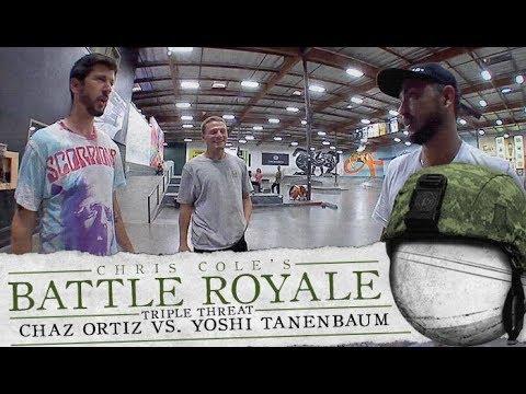 Chaz Ortiz Vs. Yoshi Tanenbaum - Battle Royale: TripleThreat