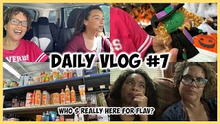 Daily Vlog #7 | Oops I Messed Up + Halloween Shopping At Walmart!