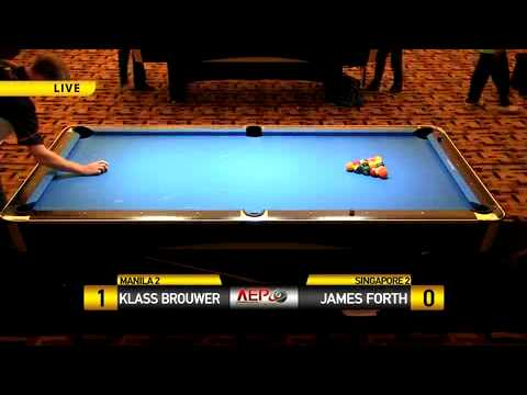Klass Brouwer (Manila) vs James Forth (Singapore)