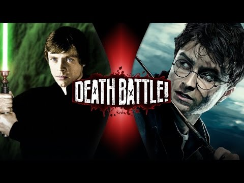 DEATH BATTLE! - Luke Skywalker VS Harry Potter