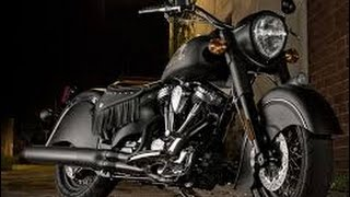 2016 Indian Chief Dark Horse Unveiled | Blacked-Out Boldness