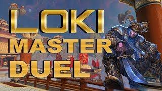 SMITE! Loki, La pesadilla de la defensa! Master Duel S4 #148