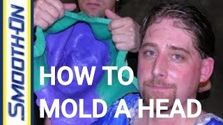 Lifecasting Tutorial - How To Make a Mold of Your Head using Body Double Silicone
