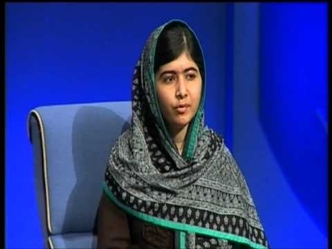 Malala Yousafzai and Sarah Brown at the 2014 Rotary in Great Britain & Ireland Conference