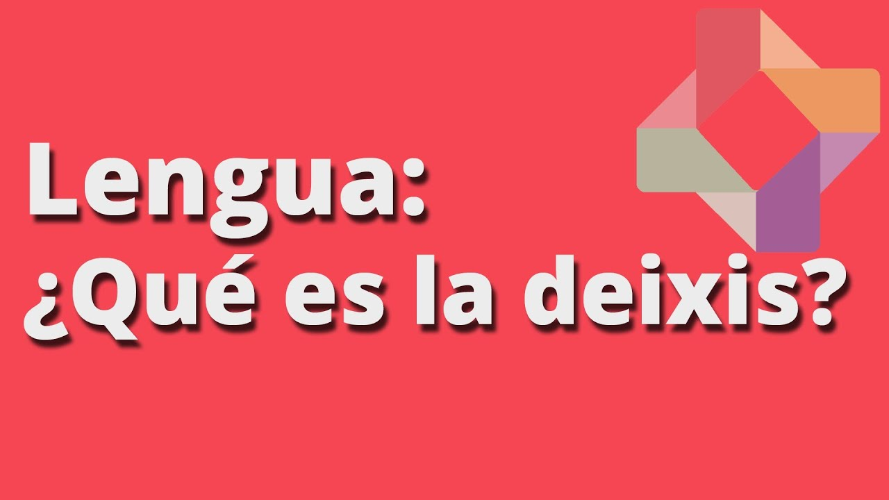 the notion of deixis in linguistics Full-text paper (pdf): deixis, reference, and the functional definition of lexical categories.