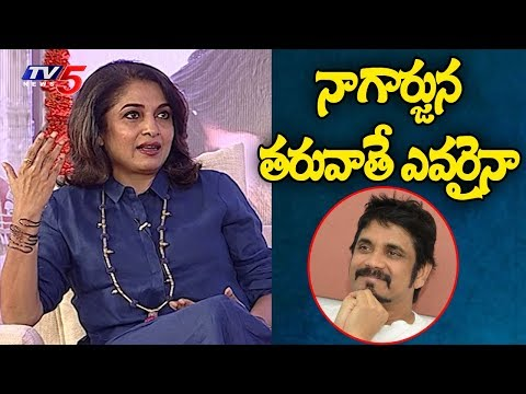 Evergreen Beauty Ramya Krishna Exclusive Interview | TV5 News