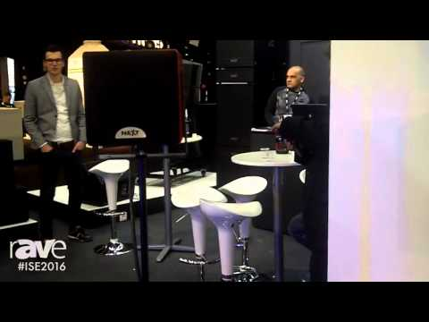 ISE 2016: NEXT-proaudio Presents Kubix Time Coherent Systems Series
