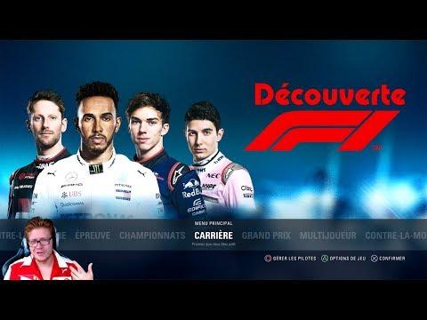 F1 2018 | LA DÉCOUVERTE DU JEU