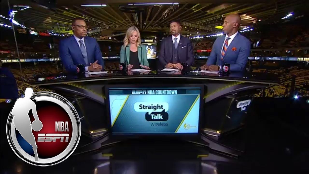 Jalen Rose: NBA Finals win would 'catapult' LeBron James into GOAT debate   NBA Countdown   ESPN