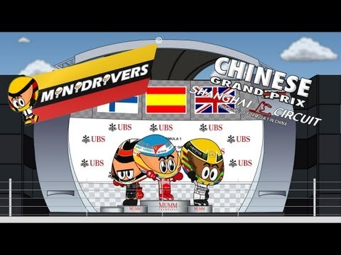 MiniDrivers - Chapter 5x03 - 2013 Chinese Grand Prix