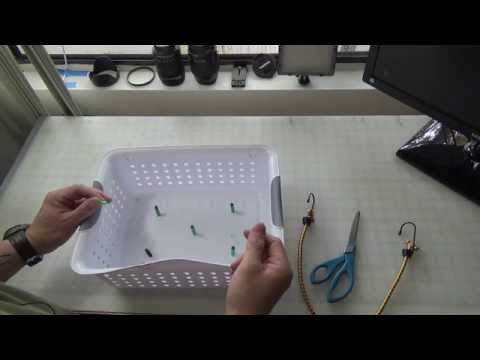 How to make a DIY Stripping Basket for Saltwater Fly Fishing