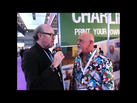 Scott Fresener Interviews Charlie Taublieb at FespaFabric Barcelona