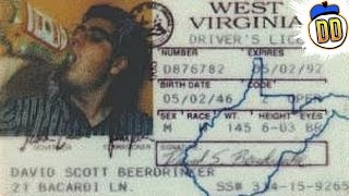 10 Least Convincing Fake IDs Ever
