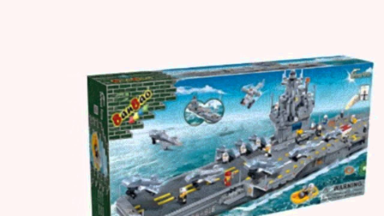 Aircraft Carrier Toy Building