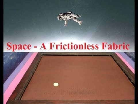 Space - A Frictionless Fabric illustration - Calicut Regional Science Center