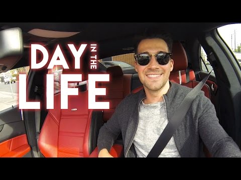 A Day In The Life Of James Maslow