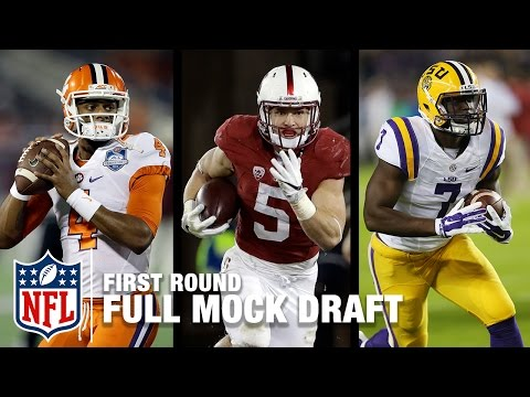2017 Full First Round Mock Draft Pre Combine Move Sticks