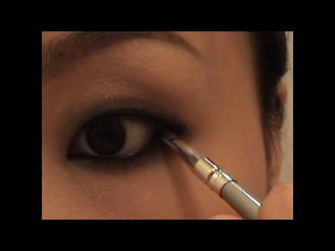 Smokey eye for monolids 单眼皮烟熏妆