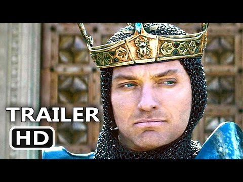 KING ARTHUR Official Trailer # 2 (2017) Guy Ritchie Action Movie HD