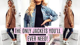 JACKETS THAT LOOK GOOD ON EVERYONE!