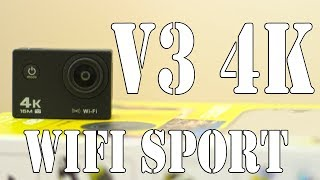 *Flash Sale*  V3 4K WiFi Sport Camera (REVIEW)