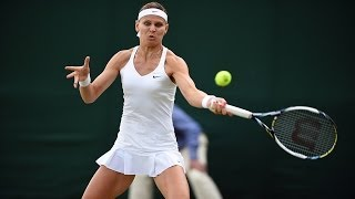 Highlights Day 8: Safarova smashes Makarova - Wimbledon 2014