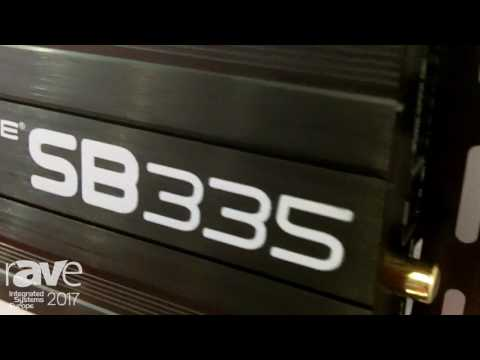 ISE 2017: SoundTube Talks About SB335 Audio Amplifier