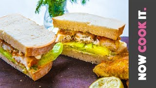 Incredible Fried Fish Sandwich Recipe