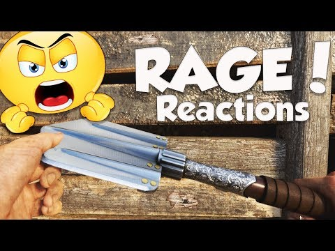 FUNNY KNIFE ONLY RAGE REACTIONS! (Epic Call of Duty WW2 Rage Moments)