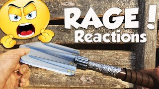 FUNNY SHOVEL ONLY RAGE REACTIONS! (Epic Call of Duty WW2 Rage Moments)