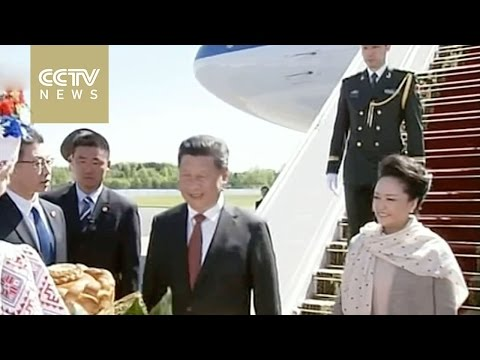 Xi Jinping lands in Belarus for official visit