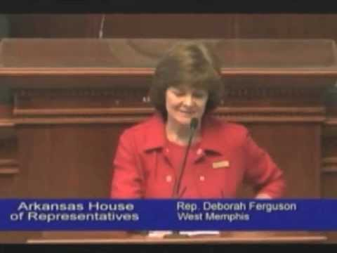 Arkansas State Rep. Deborah Ferguson Pleads For Ark. To stand On The Right Side Of Civil Rights video