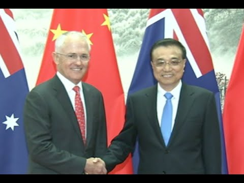 Chinese, Australian Premiers Hold Fourth Annual Meeting in Beijing