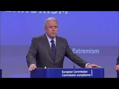 Press Conference by Dimitris Avramopoulos on Supporting the Prevention of Radicalisation