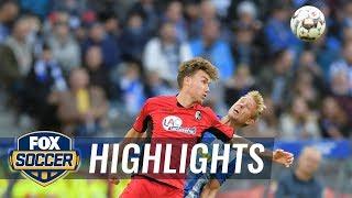 Hertha BSC Berlin vs. SC Freiburg   2018-19 Bundesliga Highlights