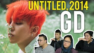 G DRAGON sings an UNTITLED 2014 song MV Reaction
