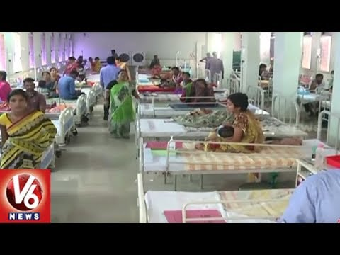 MNJ Cancer Hospital Staff Protest Against Autonomous Status | V6 News