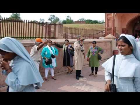 India 2014: Taj Mahal foto's door Lloyd Lachman gemaakt